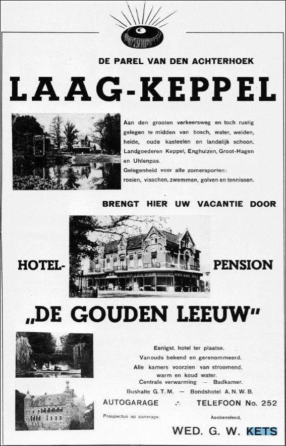 De graafschapbode 1936