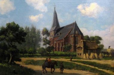 Het dorp Hoog Keppel 1743